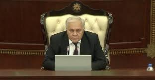 Speaker of Azerbaijani Parliament named