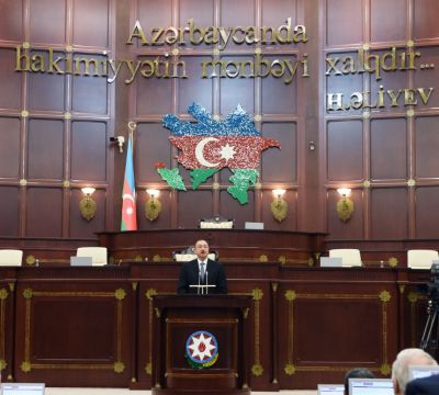 """Президент: """"Сегодня энергетическая безопасность некоторых стран зависит от Азербайджана"""""""