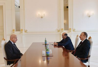 Azerbaijani President receives Director General of ISESCO