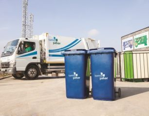 Wastes in Qala settlement are collected using different methods