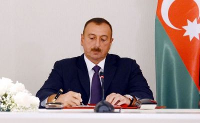Ильхам Алиев выделил 1,5 млн. манатов на ремонт 19 многоквартирных зданий в Хачмазе