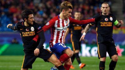 Atletico Madrid beat Galatasaray
