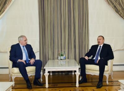 President Ilham Aliyev received Interior Minister of Georgia