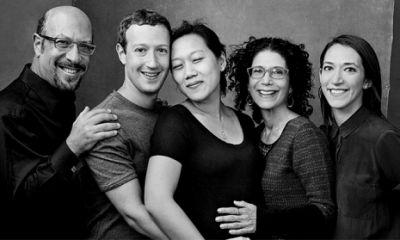 Марк Цукерберг поделился трогательной семейной фотографией
