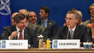 Ahmet Davutoglu to meet NATO Secretary General
