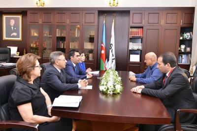 ISESCO Director General visits Baku Higher Oil School