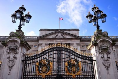 Protesters climb Buckingham Palace roof
