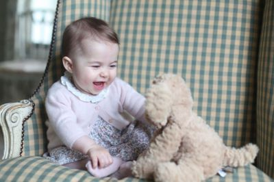 Princess Charlotte's new photos revealed