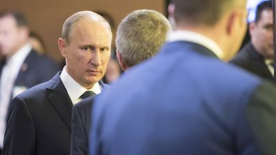 Путин в Париже встретился с Обамой и Меркель, но с Эрдоганом встречаться не стал