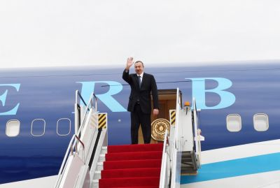 President Ilham Aliyev ended his visit to Nakhchivan