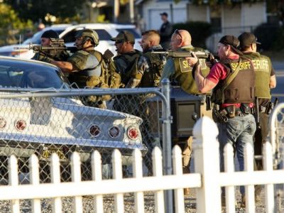 California shooting: At least 14 dead