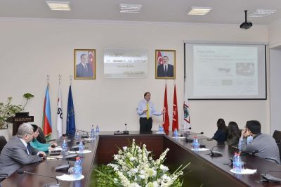 Emerson Process Management general manager  conducts workshop at BHOS