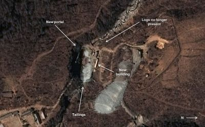 North Korea building nuclear test tunnel, new satellite photos show