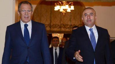 Состоялась встреча глав МИД Турции и России