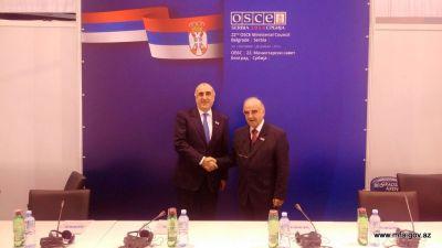 Elmar Mammadyarov meets with his Maltese counterpart