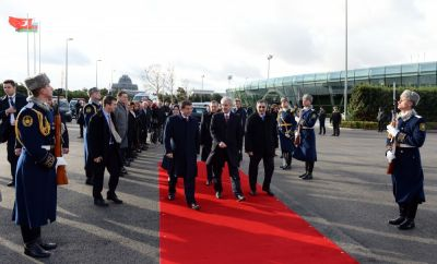 Turkish Premier ends his official visit  to Azerbaijan