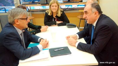 Azerbaijani FM met Spanish Secretary of State for Foreign Affairs