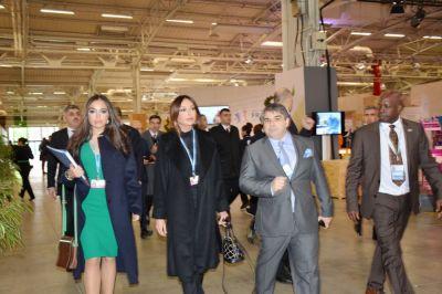Mehriban Aliyeva and Leyla Aliyeva attend COP21 Climate Change Conference PHOTOS