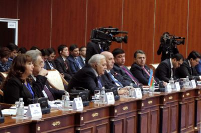 Milli Mejlis  delegation attends TurkPA`s 6th plenary session in Kazakhstan PHOTOS