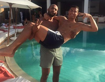 Is Ronaldo in a gay relationship with kickboxer friend ? Claims