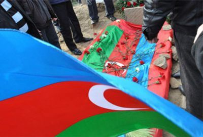 Officer of Azerbaijani Army killed by Armenian fire
