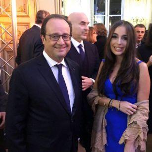 Лейла Алиева приняла участие в официальном приеме в Париже