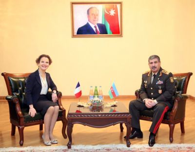 Armenian side hides its losses, Azerbaijani Defense Minister says