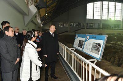 Ильхам Алиев посетил Музей терракотовой армии