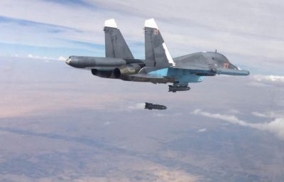 Russian aircraft in Syria hit 204 targets over 24 hours