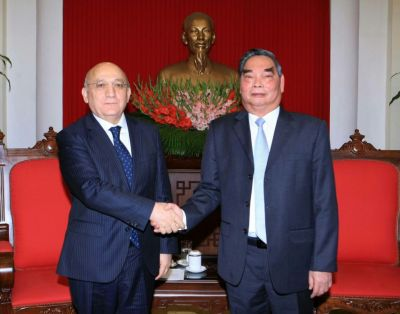 Mubariz Gurbanli met with member of Political Bureau of Vietnam`s Communist Party