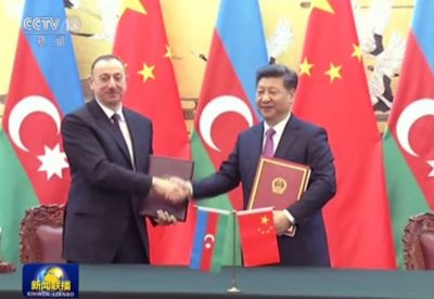 Chinese media highlights Azerbaijani President's visit