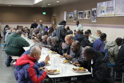 500 homeless persons provided meals in Los Angeles in memory of Azerbaijan's National Leader  PHOTOS