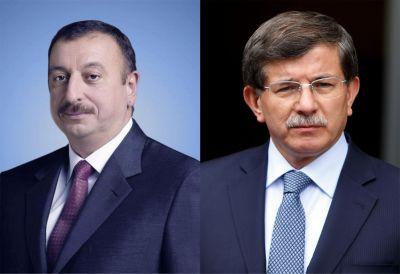 Turkish Premier phones to Azerbaijani President