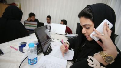 Saudi Arabia: Women voting for first time