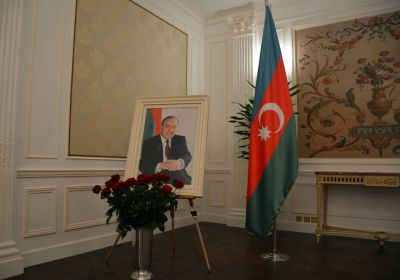 France hosts event in memory of National Leader Heydar Aliyev