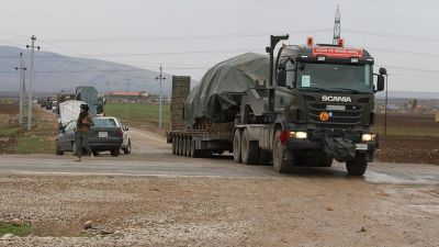 Some Turkish troops leave  northern Iraq