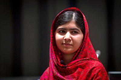 Malala condemns Donald Trump