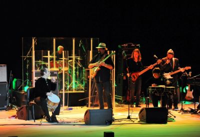 Steven Seagal gives concert at Heydar Aliyev Center PHOTOS