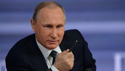 """Путин предположил, что """"кто-то решил лизнуть американцев в одно место"""""""