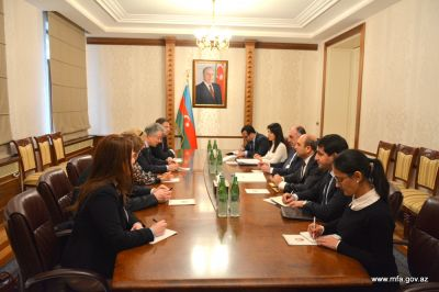 Elmar Mammadyarov meets with Thomas Mayr-Harting