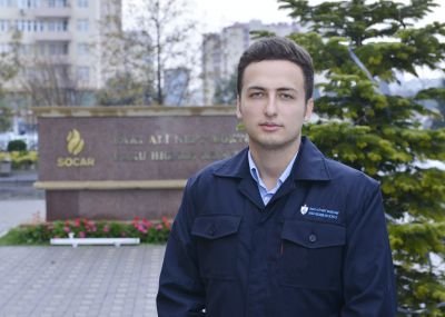 BHOS PEng student Mustafa Askerov: We will honor the heroic way of oilmen