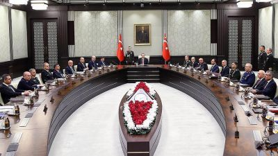 Turkey convenes for a National Security Meeting