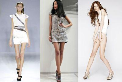 Слишком худых моделей обяжут принести справку от врача