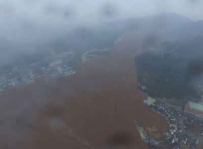 China: 91 people missing after landslide