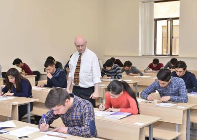 UK lecturers invigilate examinations at BHOS  PHOTOS