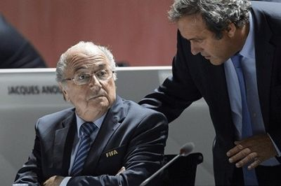 Blatter and Platini get eight-year bans