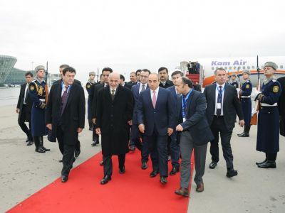 Президент Афганистана прибыл в Азербайджан