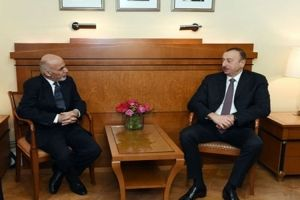 Azerbaijani and Afghan presidents held a one-on-one meeting
