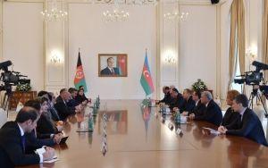 Состоялась встреча президентов Азербайджана и Афганистана в расширенном составе