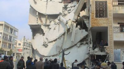 Russian airstrikes killing hundreds of Syrian civilians